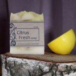 soap citrone handmade
