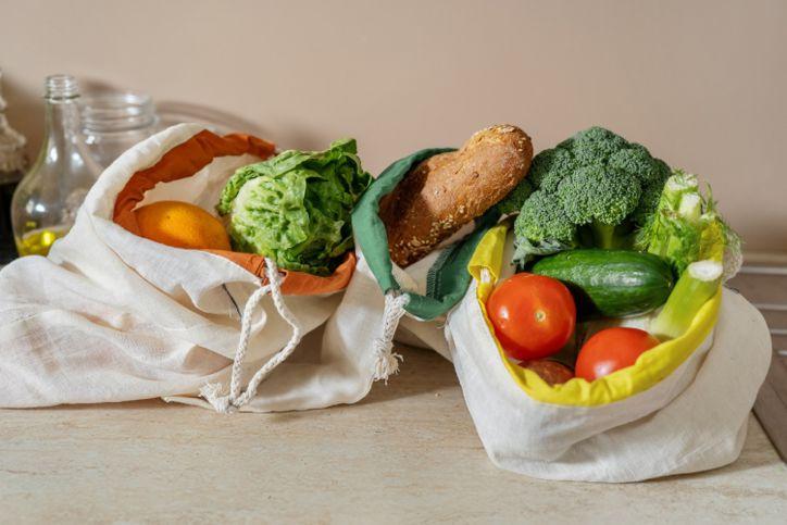 ekologiczne zakupy torby eko